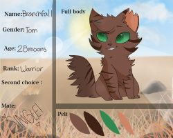 Branchfall ref. by ziggypaws