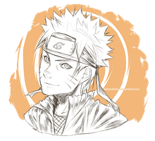 Naruto doodle by ilaBarattolo