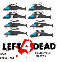 L4d Helicopter Sprites by echosnake