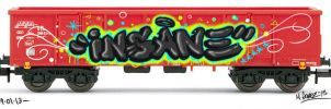 Insane Train by Insanemoe