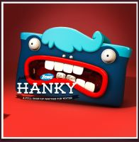 Zewa Hanky - Your fancy friend for winter by badendesing