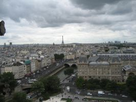 Paris cityscape 2 by CAStock