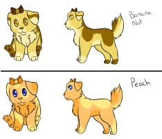 Muffin Pup Adoptables (OPEN) by Squiggy13