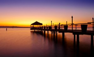 Sunset in Portorose II by ErikVodopivec