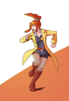 Videogame Heroines ABC Round 3 - Lynne by Pehesse