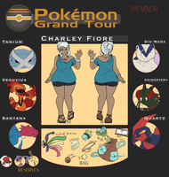Pkmn Grand Tour - Charley Fiore by Dragnia