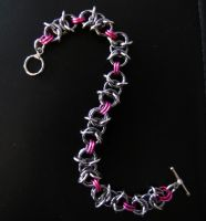 Barbed Wire Pink by CharmingChains