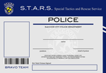 S.T.A.R.S. Bravo Team ID Template by thelilpallywhocould
