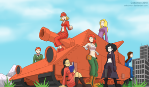 Tank Girls (2010) by Cokomon