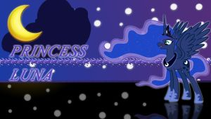Princess Luna Wallpaper by ALoopyDuck