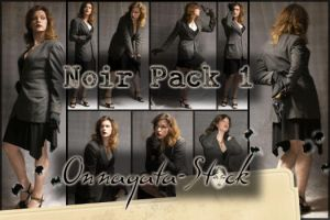 Noir Pack 1 by Onnagata-stock