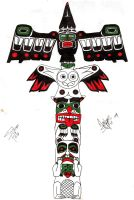 Totem Pole by HeavenlyCondemned