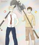 APH Battle axe duo by Okkefac