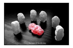 The Death Of The Jelly Baby by nicky