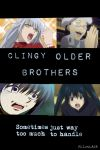 Clingy Older Brothers by PaigeHeartfilia