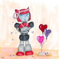 Cliffjumper Won't Say 'He's in Love' by Trickster91