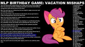 [Birthday games] Are you okay Applejack by LR-Studios