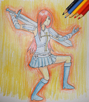 Palete challenge Erza by TheHopeMaker