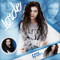 PNG Pack(329) Lorde by BeautyForeverr