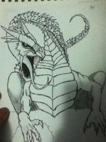 My other dragon... by Sarawrr666