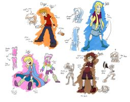 Redesigns? 1 by Drakithu