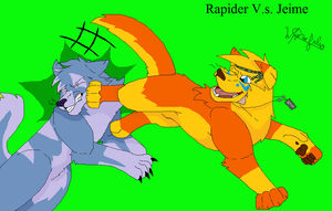 Rapide V.s. Jeime by MajuFogo