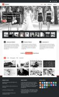 Intent Creative Free PSD Theme by bestpsdfreebies