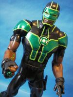 Custom Green Lantern Simon Baz by cusT0M