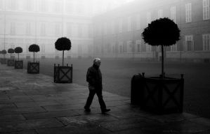 Fog in Turin 03 by Dicotomy