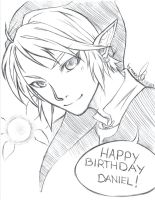 Sketch Birthday by naachi