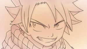 Natsu Colored by D-Aare