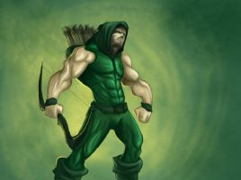 Green Arrow by Music-Energy