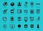 Icons and Symbols for Sta.sh by TheRyanFord