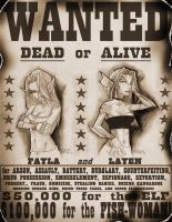 :WANTED: Fayla and Layen by vashperado
