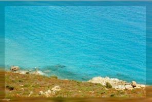 Beach from a hill by hesitation