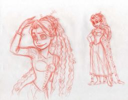 Rapunzel - New hair style by NoeUchihA
