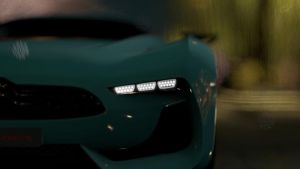 GT5 Citroen GT Concept Headlight by amithicalcreature