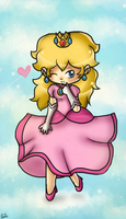 Pretty Princess Peach by Jrynkows