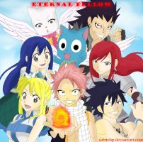 Fairy Tail Eternal Fellow by Satriobp
