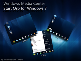 Windows Media Center Start orb by Chronic-Win7-Mods