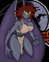 Demona colored by CheeseDogX