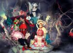 Madoka and Witches by Haruhi-tyan