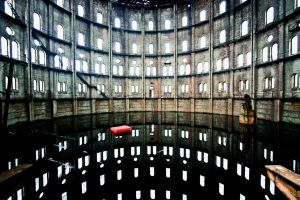 Wola gasworks by photogosiek