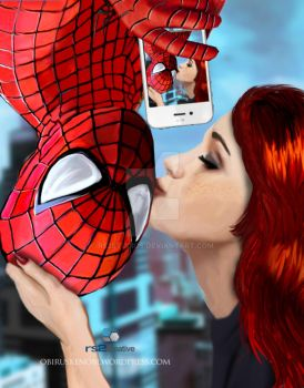 Spidey and Mary Jane Selfie Part 4 of 4 Fan Art by rs2studios
