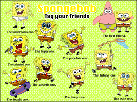 Tag your friends - spongebob by Ziyaa