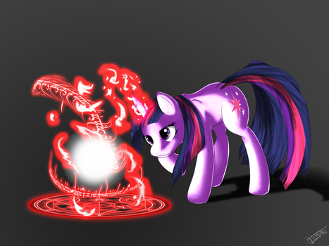 Sparkling magic by Ultimiant