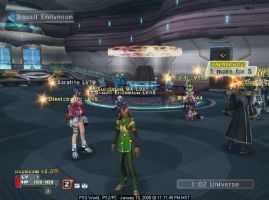 Squall in PSU? OMFG by Squall179
