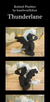 Knitted Plushies - Thunderlane by haselwoelfchen