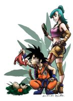 Fan Art - Dragon Ball by nary-san