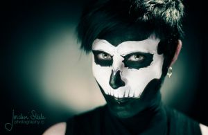 Abbey Show Skull Makeup by Incomplete-cadence